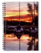 Whiskey At Sunrise Spiral Notebook