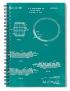 Whiskey Barrel Patent 1968 In Green Spiral Notebook
