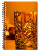 Whiskey In A Glass Spiral Notebook