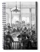 Whiskey Ring Trial, 1876 Spiral Notebook
