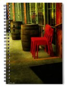 Whiskey Row Spiral Notebook