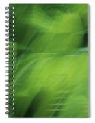 Whispering Hostas Spiral Notebook