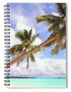 Whispering Palms. Maldives Spiral Notebook