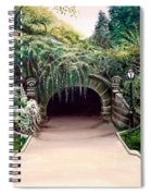 Whispering Tunnel Spiral Notebook