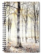 Whispering Woodland In Autumn Fall Spiral Notebook