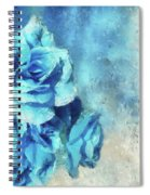 Whispers Of Blue Spiral Notebook