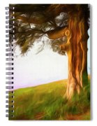 Whispers Of The Wind Spiral Notebook
