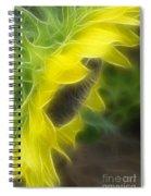 Whispy Petals Spiral Notebook
