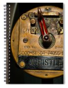 Whistle Switch Spiral Notebook