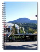 Whistler Mountain Spiral Notebook