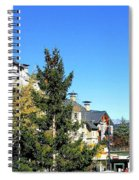 Whistler Village Spiral Notebook