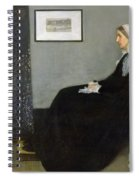 Whistlers Mother Spiral Notebook