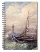 Whitby, 1883 Spiral Notebook