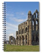 Whitby Abbey Spiral Notebook