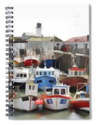 Whitby Harbour Spiral Notebook