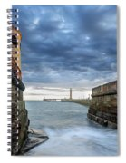 Whitby Morning Tide 2 Spiral Notebook