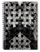 White And Black In My Hands Spiral Notebook