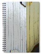 White And Tan Fence Spiral Notebook