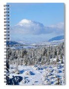 White Blanket Spiral Notebook