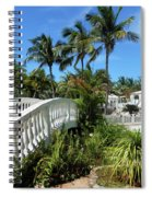 White Bridge Spiral Notebook