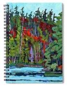 White Cedar Shore Spiral Notebook