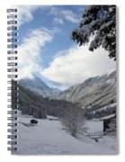 White Christmas  Spiral Notebook