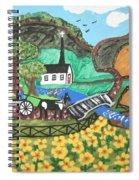 White Church Spiral Notebook