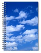 White Clouds Spiral Notebook