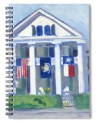 White Columns Spiral Notebook