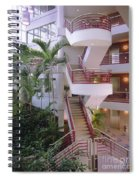 Corporate Woods White Lobby Spiral Notebook