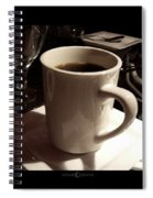 White Cup Spiral Notebook