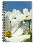 White Daisy Flowers Fine Art Photography Daisies Baslee Troutman Spiral Notebook
