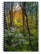 White Dogwoods Spiral Notebook
