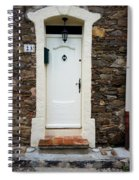 White Door 23 Spiral Notebook