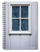White Door Detail Spiral Notebook
