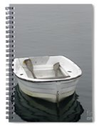 White Dory Spiral Notebook