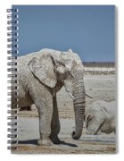 White Elephants Spiral Notebook