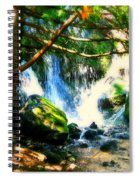 White Falls Spiral Notebook