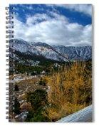 White Fence Spiral Notebook
