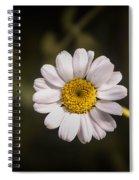 White Flower 1 Spiral Notebook