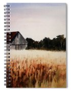 White For Harvest Spiral Notebook