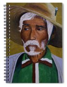 White Haired Man - 2d Spiral Notebook