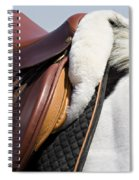 White Horse And Saddle Spiral Notebook