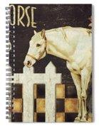 White Horse Farms Vermont Spiral Notebook