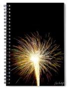 White Hot Spiral Notebook