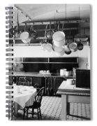 White House Kitchen, 1901 Spiral Notebook