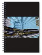 White House To The Moon Spiral Notebook