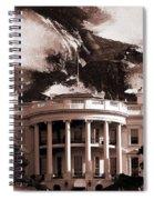 White House Washington Dc Spiral Notebook