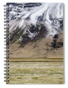 White Icelandic Horse Spiral Notebook