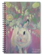 White Lilacs Spiral Notebook